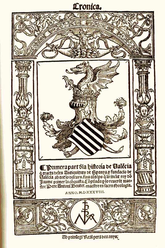 La tradicio cronista del segles XVI i XVII – Per José Vicente Gómez Bayarri